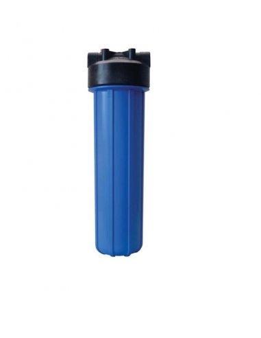 Contenitore big 20 blue IN-OUT 3/4 - pulsante rilascio pressione con chiave e staffa