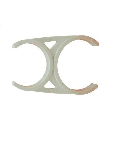 Clip Per Doppia Installazione 2x2,5