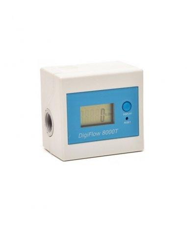 Contalitri LCD Digiflow 8000T monitoraggio tempo/litri