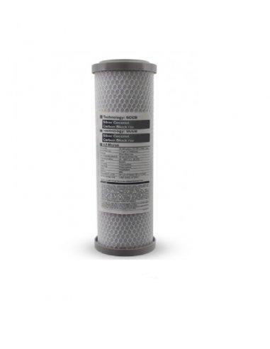 Cartuccia Battereostatica Carbon Block al cocco 2,5x10 - 0,5 micron IONICORE
